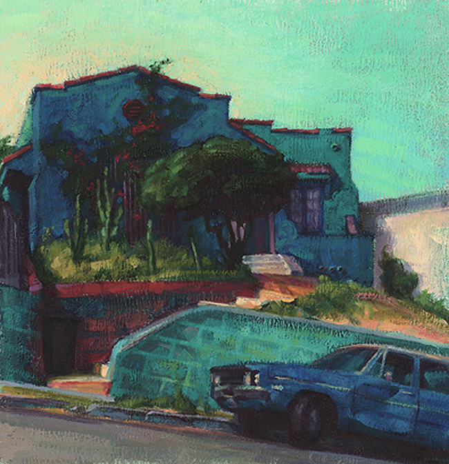 House in Echo Park, Morning