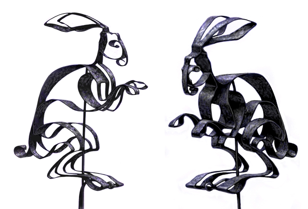Iron Rabbit Puppets