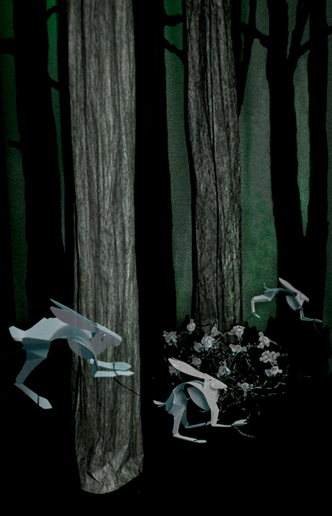 Ghost Rabbits, Ghost Woods Sequence, Remus Reconstructed, stick puppet sequence