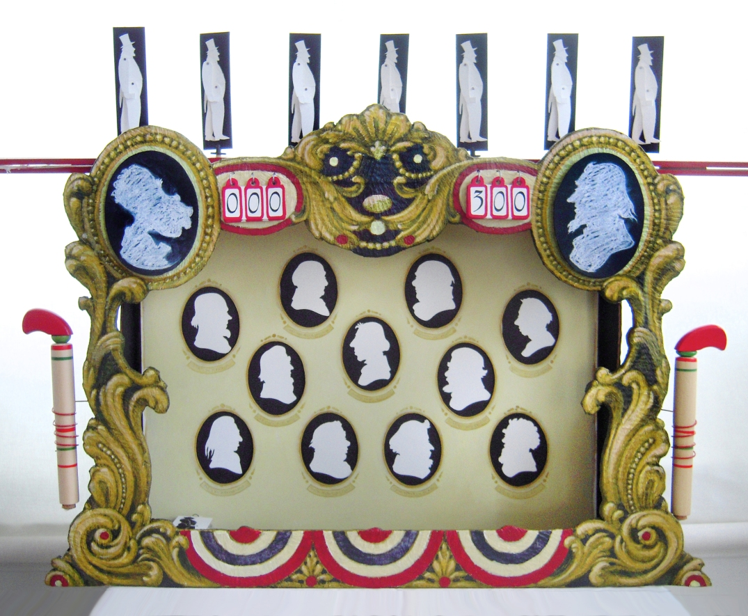 Games Sequence (Elections), Remus Reconstructed, toy theater tableau